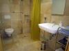 Badezimmer im Appartment 1